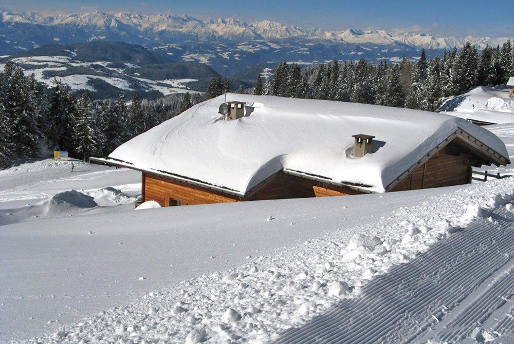 Winterlicher Almurlaub inmitten des Skicenters Latemar