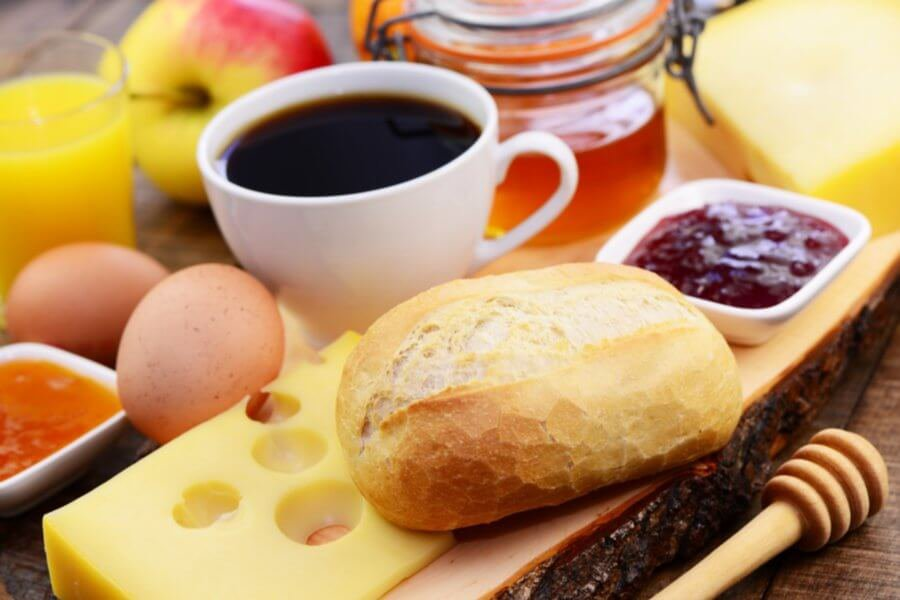 Frühstück auf dem Thalerhof